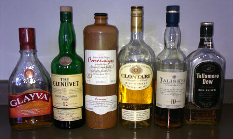 photo of 6 bottles